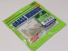 * ECOGEAR GRASS MINNOW S #163(Luminous) 1-3/4in Quantity:12 from japan !