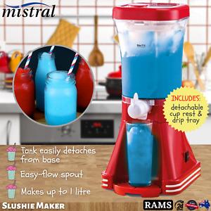 Mistral Slushie Slushy Maker Slurpee Machine Frozen Drinks Juice Icy Cold Ice