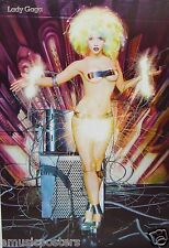 "LADY GAGA ""ELECTRIC SPARKS COMING OFF OF NUDE GAGA"" POSTER FROM ASIA"