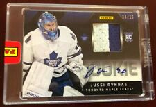2012/13 Panini Stanley Cup Finals Promo Pack JUSSI RYNNAS RC PATCH AUTO #24/25