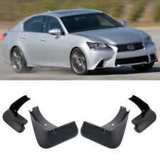 4 Mud Flaps Splash Guard Fender Car Mudguard for Lexus GS 350 450h F Sport 13-15