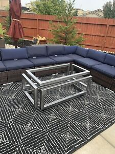 Infinity Table, Modern Table, Decorative Steel Table