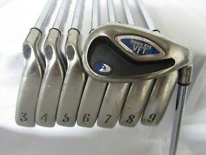 Used Callaway Hawk Eye VFT Iron Set 3-P UniFlex Steel Shafts