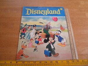 Disneyland Magazine 1971 Mowgli Peter Pan Jiminy Cricket wraparound cvr #56