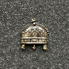 Holy Crown of Hungary Badge - Golden antique