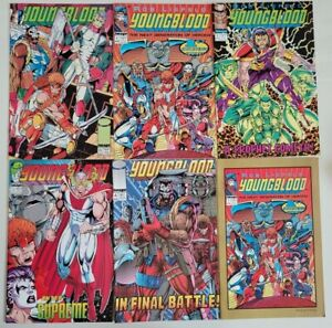 YOUNGBLOOD #0 1 2 3 4 (1992) 1ST APPEARANCE PROPHET! SUPREME! SHADOWHAWK+GOLD #1