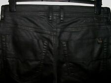 Diesel tepphar slim-carrot leather style jeans wash 0663Q stretch W31 L32 a3237