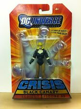 DC Universe Infinite Heroes Crisis Series 1 Black Canary Figure 32 Mattel 2008