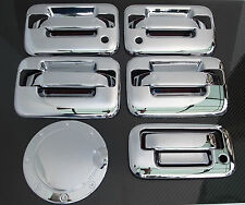 04-08 FORD F150 4DR CHROME DOOR HANDLE + TAILGATE + GAS DOOR COVER+NO KEYPAD+KH
