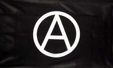 ANARCHY FLAG GIANT 8 X 5 ANARCHIST PUNK CRASS CONFLICT