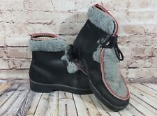 Vintage SNOWLAND Womens Warm Faux Fur Boots Ski Size 8 WInter