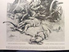 m17c6 ephemera ww1 picture british r h artillery fight to the end