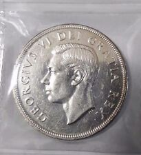 1948 CANADA  BEAUTIFUL, GRADED, SILVER DOLLAR KEY DATE 18,780 MINTED