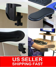 Ergonomic Adjustable Computer Desk Extender Arm Wrist Rest Support/ Mouse Pad
