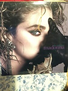 madonna the virgin tour , vinile verde, numerato, live recording, limited
