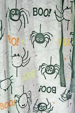 Unisex Halloween Pajama Pants Lounge wear gray Vampire Spiders Boo Silly Size M