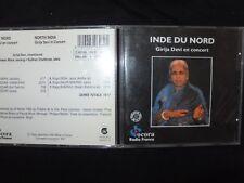 CD INDE DU NORD / GIRIJA DEVI EN CONCERT /