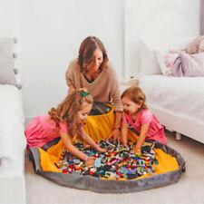 Home Large Storage Bucket Storage Basket Clothes Sundries Kids Toy Bag Hamper