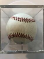 Carlton Fisk Autographed Baseball MLB HOF Boston Red Sox Chicago White Sox