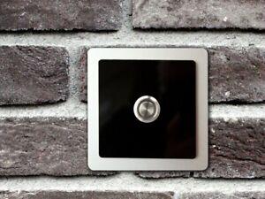 Doorbell Button Front Door Bell Doorbell Pushbutton Stainless Steel Alu-Acrylgl