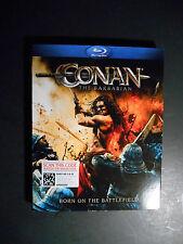 Conan the Barbarian (Blu-ray Disc, 2011) W/Slipcover