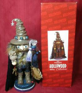 Kurt Adler Hollywood Collection Wizard Nutcracker Owl Christmas/Halloween Decor