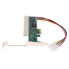 Adaptateur PC PCI-Express PCI-E X1 X4 X8 X16 vers carte bus PCI Riser