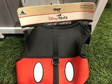 Disney Parks Tails Mickey Mouse Costume Harness for Dog L Large New Nwt