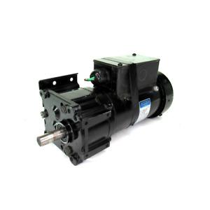 Leeson CM38P17FZ9C / M1145030.00 AC Gearmotor, 115/230V, 2.1/3/1.05/1.5 Amp, 1-P