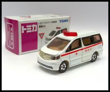 TOMICA AEON TOYOTA ALPHARD FIRE CHIEF CAR 1/65 78 ( Lack of road signs )