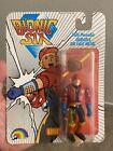 Bionic Six 6 Eric Diecast Action Figure 1986 Vintage LJN/Grand Toys MOC MIB For Sale