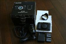 Fujifilm X-E2 16.3MP Digital Camera - Black Kit w/ XF R LM OIS 18-55mm & Extras