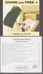 Cithare Pour Prier Cd Carmel De Luçon