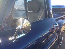 Pair (2) Door mirrors 1955 1956 1957 Chevrolet pickup pick-up truck