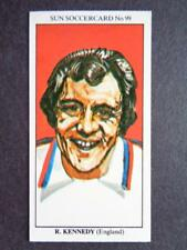 LE SOLEIL soccercards 1978-79 - Ray KENNEDY - ANGLETERRE #99