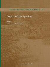 Prospects for Saline Agriculture (Tasks for Vegetation Science)