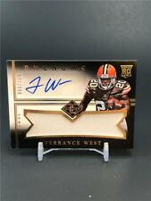 2014 PANINI LIMITED TERRANCE WEST ROOKIE PATCH AUTO 006/199 CLEVELAND BROWNS