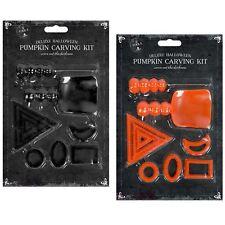 9 KIT pezzo di zucca intaglio strumento set festa di Halloween Lanterna Decorazione Casa