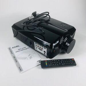 AriusTek Home Projector  XRT-2700 WXGA LED ready LED Lifespan 19,900 hrs