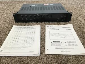 TOA 900 Series II Amplifier M-900MK2 8-Channel Mixer w/ Operating Instructions