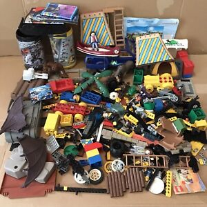 Job Lot of Assorted Playmobil, Lego, Duplo - inc Vintage, Technic