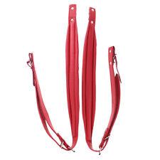 6cm Akkordeon Schulterriemen,Accordion belts,72-120 roter Faden.Accordion Straps