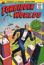 Forbidden Worlds #107 - Levitating Magician - 1962 (8.5) Wh