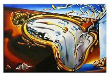 Salvador Dali - Die weichen Uhren -70x50 Ölgemälde Handgemalt Leinwand SigG05538