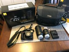 Nikon D3500 camera with two lenses and bag- used once