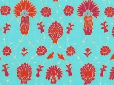 CLEARANCE! Philip Jacobs Snow Leopard Designs Iznik Ruby Medina Fabric BTY