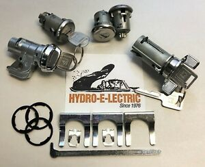 NEW 1969-1973 Nova, 1969 Chevelle Complete OE style Lock Set- GM keys