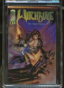 WITCHBLADE #1 CGC GRADED 9.8 WHITE PAGES 1995 SARA PEZZINI ACQUIRES WITCHBLADE