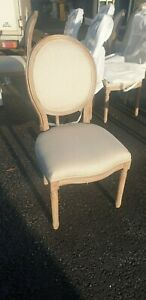 NEW FRENCH LIMED ASH DINING CHAIR (12 AVAILABLE)