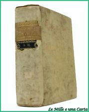 Settecentina libro antico di diritto civile Venezia opera completa Juris civilis